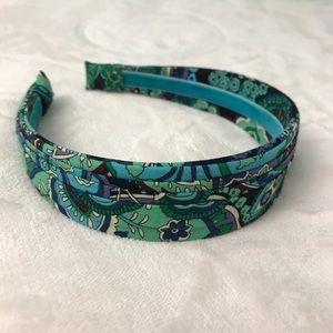 Vera Bradley headband (green)
